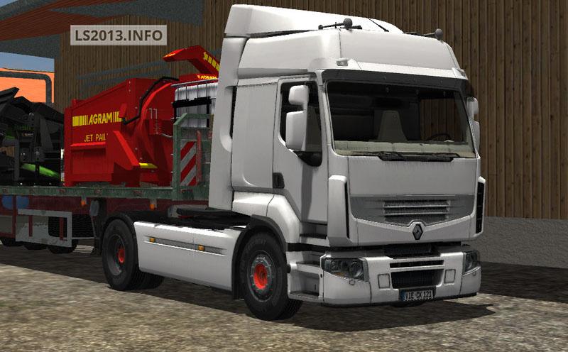 Mods 2013 | Renault Premium 460 v 1.0 in Farming Simulator 2013 Trucks