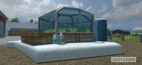 Strawberries Greenhouse v 1.0