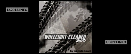 Wheel Dirt Cleaner v 1.0