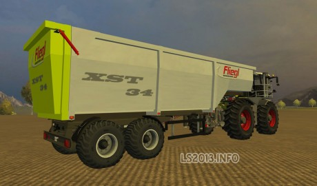Fliegl Semi Trailer v 1.1