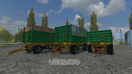 Fuhrmann small Trailers Pack v 1.0