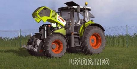 Claas Axion 850 MR