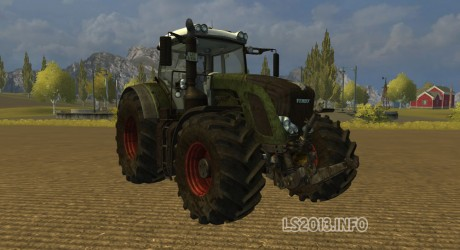 Fendt 936 Vario SCR Dirt
