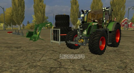 Fendt Vario 724 SCR Pack v 2.1 MR