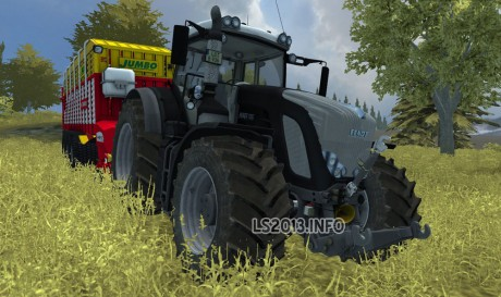 Fendt Vario 936 SCR Black Beauty