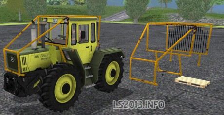 Forestry-Cage-for-MB-Trac-1600-Turbo-v-1.0