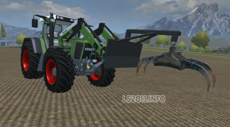 Frontloader-Forestry-Pliers-Adapter-v-1.0