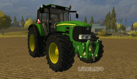 John Deere 7530 MR Powershift BETA
