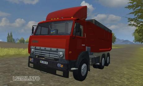 Kamaz 55111 v 1.0 Red