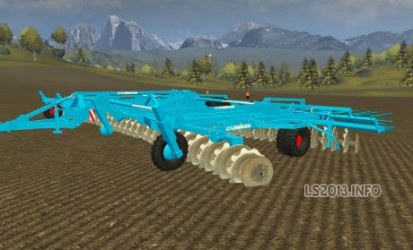 Lemken Large Areas Prototype Cultivator v 2.1