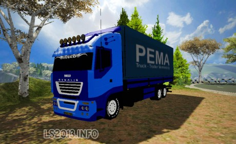 Modell Iveco Blue v 1.0