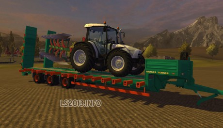 Aguas-Tenias-Low-Loader-Tridem-Trailer-v-2.0-MR