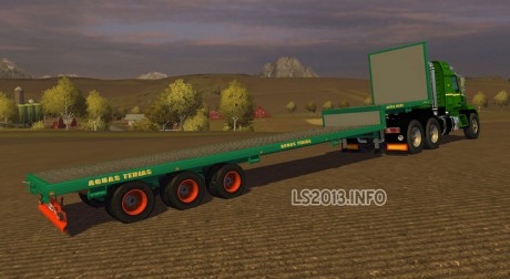 Aguas-Tenias-Reduced-Platform-Truck-Trailer-v-1.0