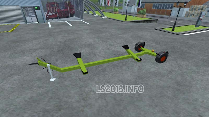 Claas direct disc 520 and claas cutter trailer v 1 0 2
