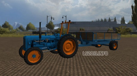 Fordson-Mayor-4-WD-with-Trailer-v-1.0