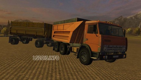 Kamaz-55111-with-GKB-8527-Trailer