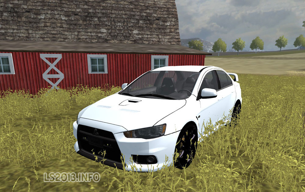 Mitsubishi Lancer Evolution X V 3 0 Mr Ls 2013 Mods
