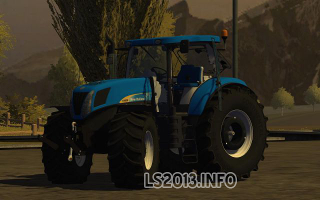 New Holland T7030 | LS 2013 mods
