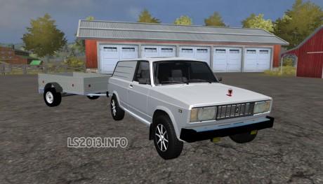 VAZ-2104-Pickup+Trailer