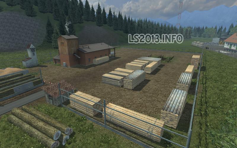 Alpental Green v 1.5.1 Forest Edition | LS 2013 mods