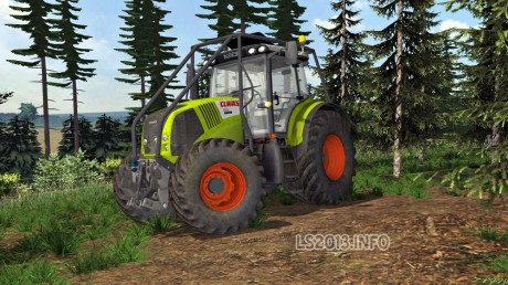 Claas-Axion-850-Forest-Edition-v-2.0