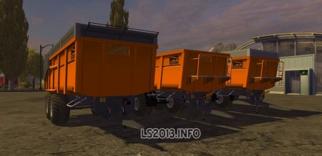 Dezeure TT Trailers Pack MR