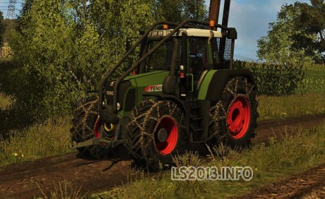 Fendt Vario 820 Forest Edition