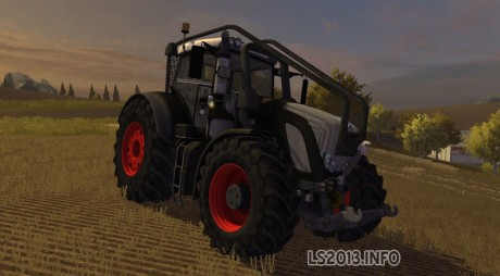 Fendt Vario 936 Black Beauty Forest Edition