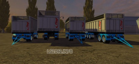 Fliegl TMK Benoit Transports Edition Trailers Pack