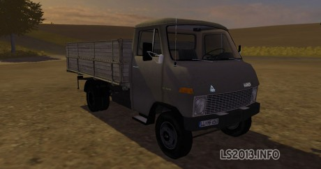 Hanomag F65 Tipper MR