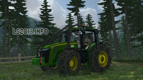 John Deere 8310R Forest Edition
