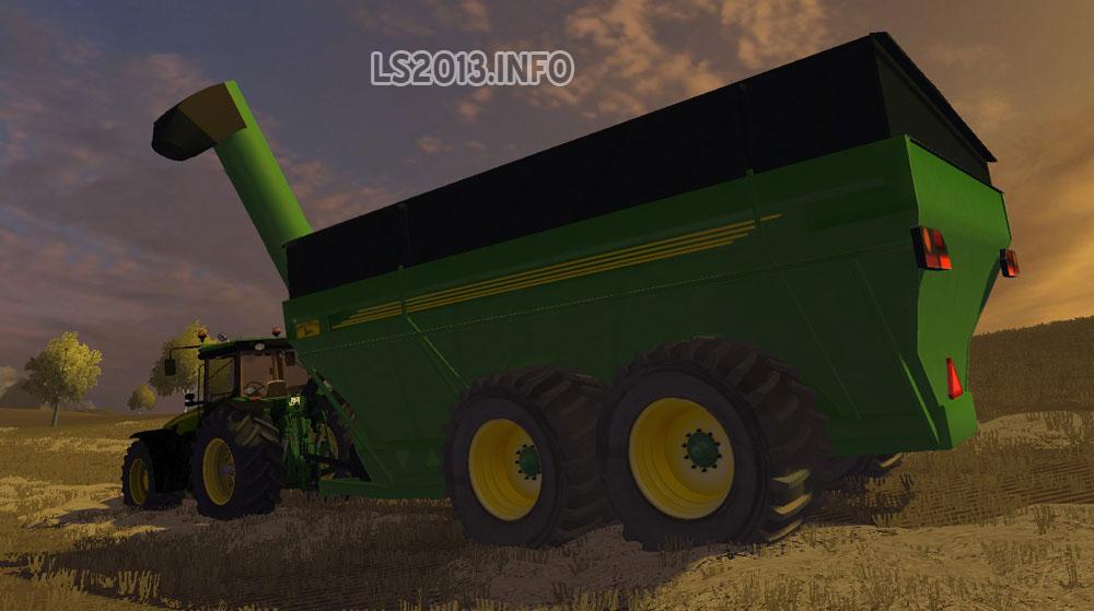 John Deere Trailor : John deere grain trailer v ls mods