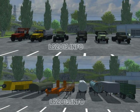 Kraz-and-Trailers-Pack-v-2.0
