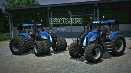 New Holland T8050 Forest Edition