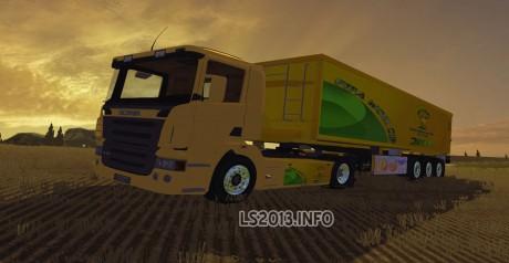 Scania-R-420 +Trailer-1
