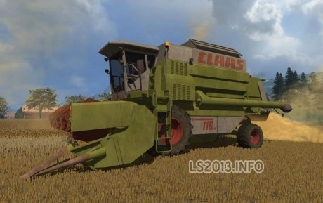 Claas-Commandor-116-CS-Pack-v-1.0