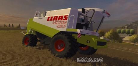 Claas Lexion 420 v 3.0