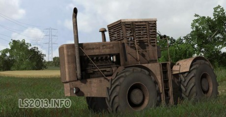Customs Tractor