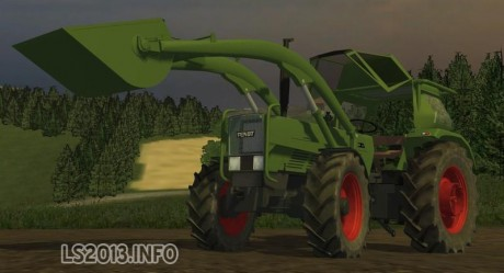 Fendt Favorit 4S with Frontloader v 3.0 MR