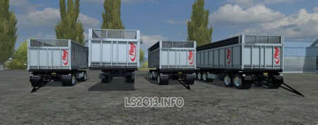 Fliegl-TMK-Franki-Transports-Edition-Trailers-Pack-1