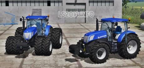 New Holland T7.220 Blue Power