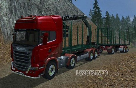 Scania R730 Manipulator v 1.0