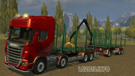 Scania R730 Manipulator v 2.0