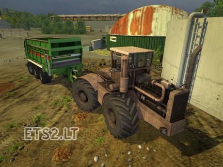 MrFox Customs Tractor v 1.0 MR