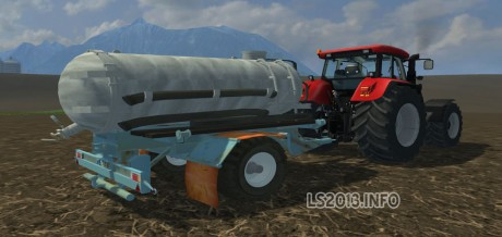 DDR-single-axle-Manure-Spreader