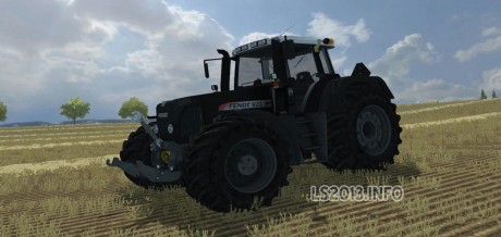 Fendt Vario 820 Black Beauty