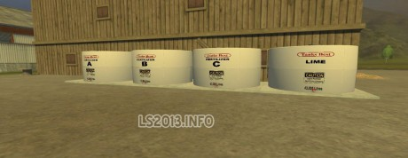Fert and Herbi Tanks for Decker's Soil Mod