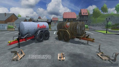 Fuchs-Manure-Spreader-Trailer