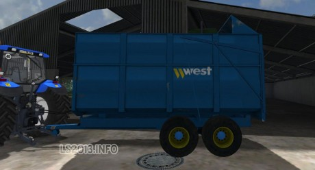 Harry-West-10-T-Silage-Trailer