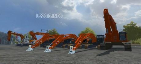 Hitachi Excavators Pack